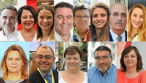 Estos son los ocho diputados y cinco senadores por Baleares.