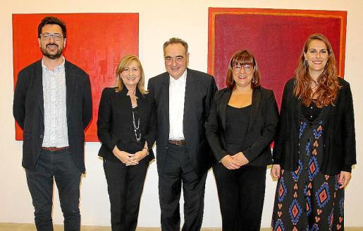 Mateu Malondra, Gudi Moragues, Mateu Bauzà, Bel Busquets y María Pastor.