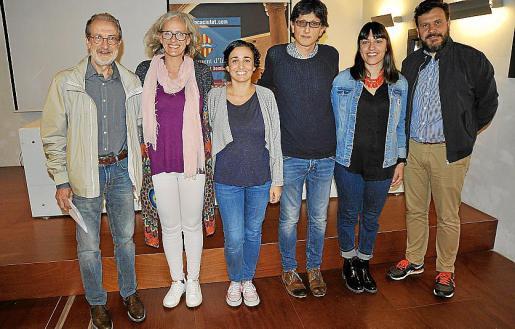 Victor Gayà, Alice Weber, Maria Muntaner, Xavier Zambrano, Maria Antònia Pons y Miquel Àngel Cortés.
