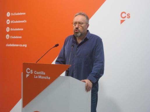Juan Carlos Girauta, en rueda de prensa.
