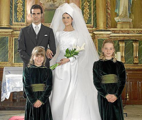 La serie recreará la boda entre Paquirri y Carmina.