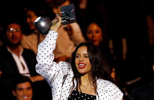 La cantante catalana, recientemente premiada por los MTV Europa.