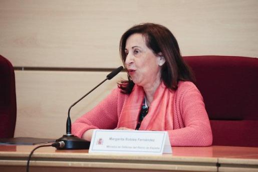 La ministra de Defensa en funciones, Margarita Robles.