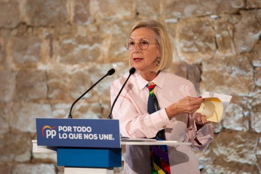 La fundadora de UPyD, Rosa Díez, apoyó al PP en las últimas elecciones.