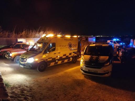 Los equipos de emergencia en el lugar del suceso.