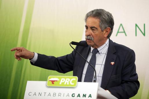 El presidente de Cantabria y secretario general del PRC, Miguel Ángel Revilla.
