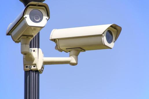 Imagen de unas cámaras de seguridad.