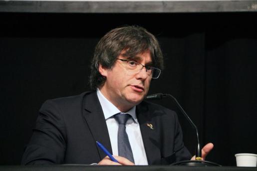 El expresident de la Generalitat, Carles Puigdemont.