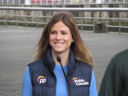 Beatriz Fanjul, diputada del PP por Vizcaya