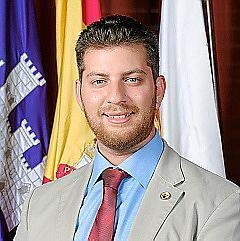 El regidor de Llibertat Llucmajor Alexandro Gaffar.