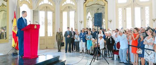 Discurso del Rey en su visita a Cuba.
