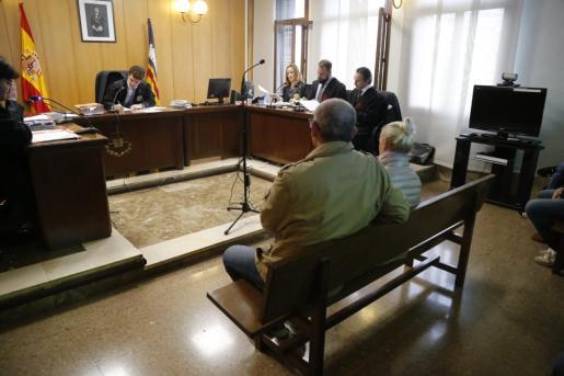 Renata G., la acusada por el atropello mortal de Paula Fornés, en la última sesión del juicio.