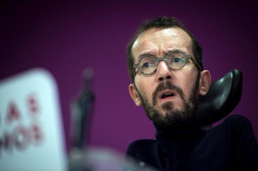 El secretario de Acción de Gobierno de Podemos, Pablo Echenique.