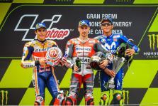 Los grandes de MotoGP destacan el talento y el carácter campeón de Lorenzo