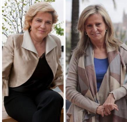 Pilar Rahola e Isabel San Sebastián.