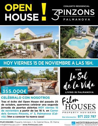 El viernes 15 de noviembre, a partir de las 16:00 horas, FIlm Houses propone una jornada de puertas abiertas de Pinzons 3.