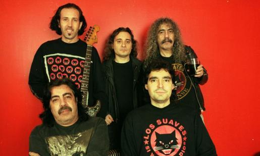 Los suaves, unos rockeros empedernidos con 25 años de carrera a sus espaldas.