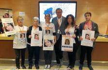 Familias de las desaparecidas Malén Ortiz y Olivia Encinas
