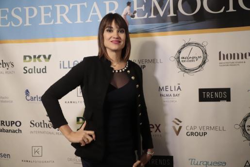 Irene Villa, este sábado en el congreso Despertar Emociones, que se ha celebrado en el Trui Teatre de Palma.