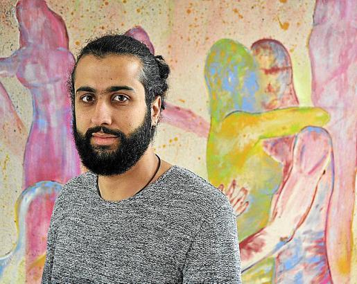 Wesam Nasif relató su experiencia como refugiado.