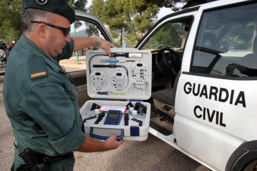 El Seprona de la Guardia Civil realizó inspecciones en cinco pozos próximos a s'Albufera.