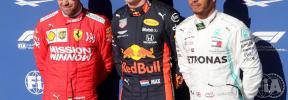 Verstappen mete miedo con su 'pole' en Interlagos