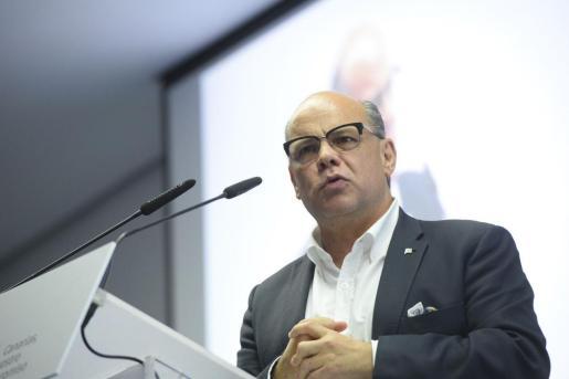 El diputado de Coalición Canaria, José Miguel Barragán.
