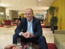 El exministro de Industria Miguel Sebastián, durante el Gobierno de José Luis Rodríguez Zapatero