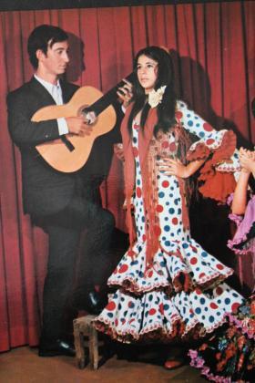 Isabel Pantoja grabó un disco en Palma en 1970.