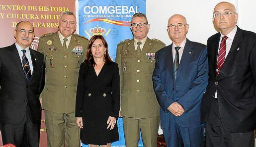 Juan Bernardo Albertí Dumas, Juan Cifuentes, Antonia Paniza, Juan Hidalgo, Juan José Negreira y Miguel Deyá.