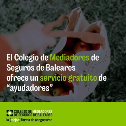 El Colegio de Mediadores de Seguros ofrece un servicio gratuito de ayudadores.