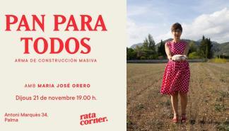 María José Orero reflexiona en Rata Corner sobre el hambre en el mundo