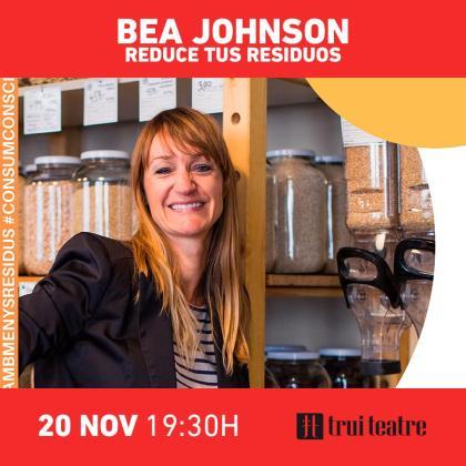 Bea Johnson es autora del bestseller Cero residuos en casa, traducido en más de 25 idiomas y conferencista en más de 60 países.