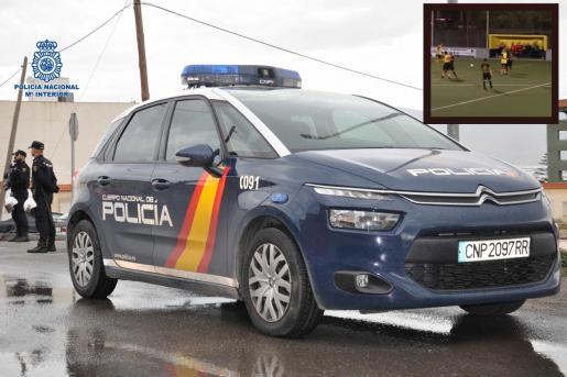 La Policía Nacional ha detenido a un jugador del Son Sardina B por agredir a otro futbolista.