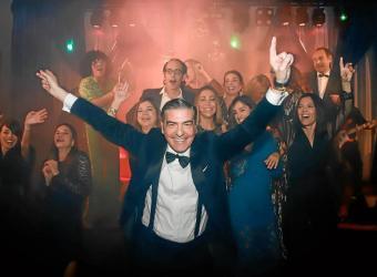 Esteban Mercer reúne a la sociedad mallorquina en la fiesta Navidad entre amigos