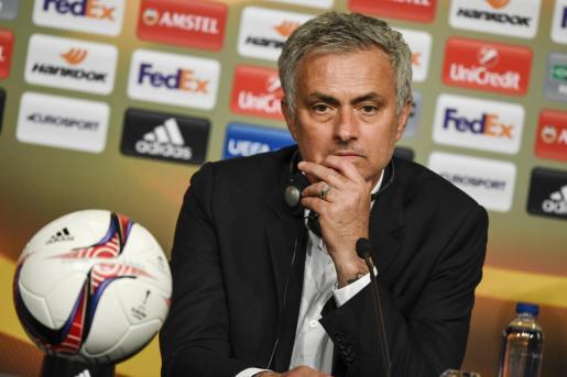 Fotografía de archivo de José Mourinho.