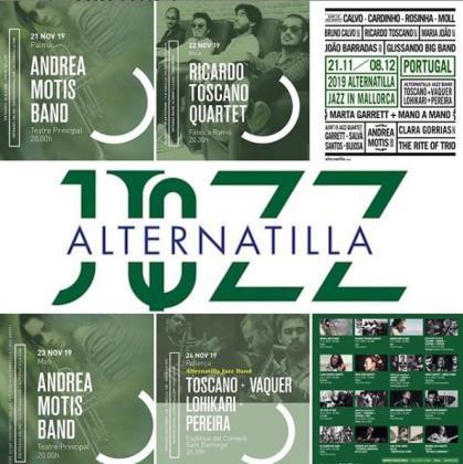 Cartel del Alternatilla Jazz Festival in Mallorca 2019.