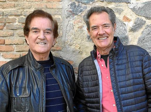 Imagen reciente de Manuel de la Calva y Ramón Arcusa, el Dúo Dinámico.