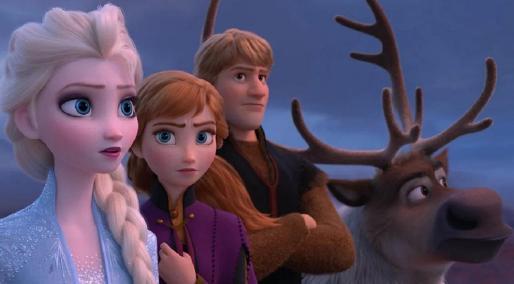 Imagen de la película Frozen, que este viernes estrena su secuela.