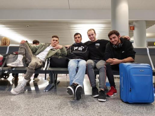 Marc Bestard, Andreu Adrover, Diego Ponce y Xavier Giglioli