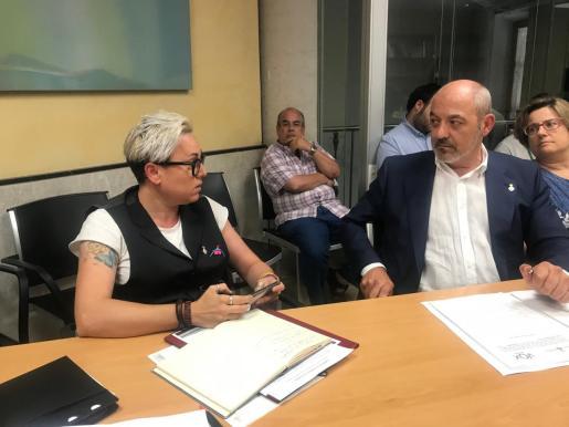 Los rifirrafes entre Vivas y Rodríguez se están convirtiendo en habituales.
