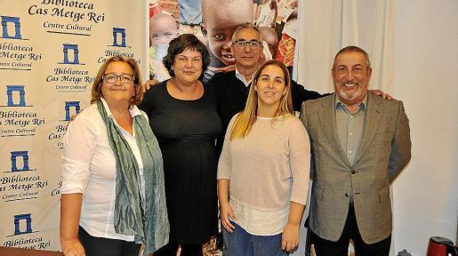 Bel Pascual, Jessica Palacios, Mateu Marqués, Maria Marqués y Josep Palacios.