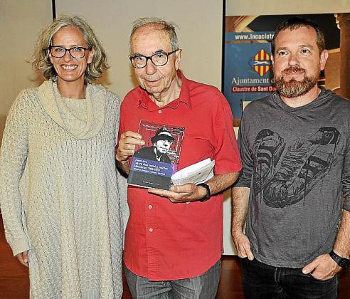 Alice Weber, Antoni Pons y David Abril.
