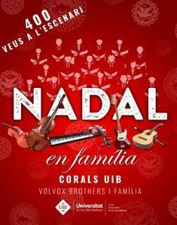 Cerca de 400 cantaires subirán al escenario del Auditórium de Palma en su tradicional concierto de Navidad.