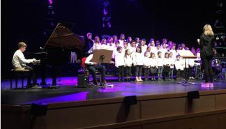 Concierto de Navidad de la Escuela de Música y Danza de Sant Llorenç en Sa Màniga
