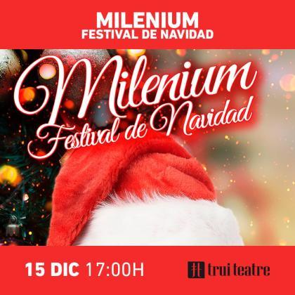Trui Teatre acoge el Festival de Navidad de Milenium Escuela de Baile.