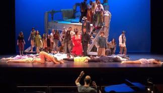 Concierto de ópera escenificado con 'El diluvio de Noè' en el Teatre Principal de Palma