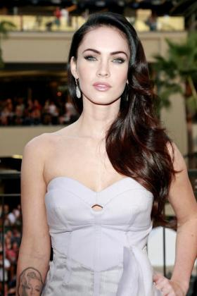 La actriz estadounidense Megan Fox .