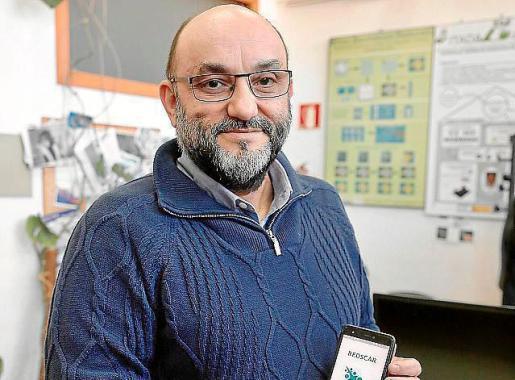El tutor del proyecto, Manuel González.