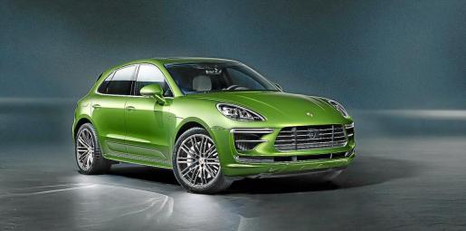 El nuevo Macan Turbo destaca por su exclusivo frontal.